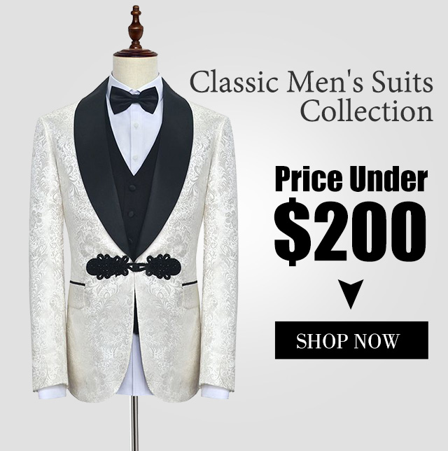 Shop men's suits at Suzhoufashion