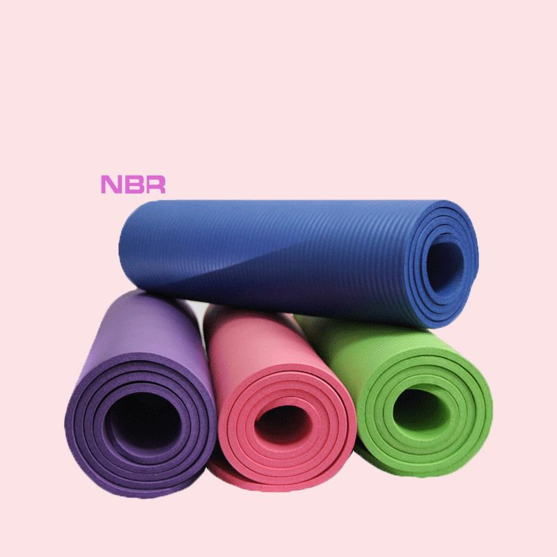 High Quality Non-slip Yoga Mats For Fitness Big Size 183*61cm Yoga Blanket NBR Outdoor Home Heath Exercise Pad