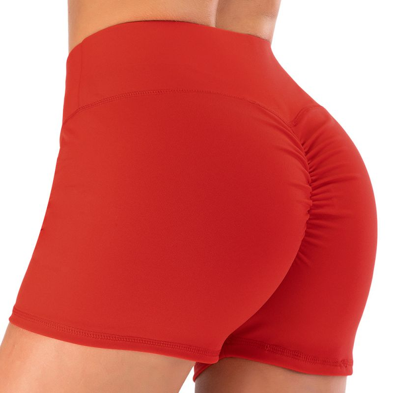 Breathable Shorts Running Gym Sports Yoga Shorts Fitness Workout Activewear