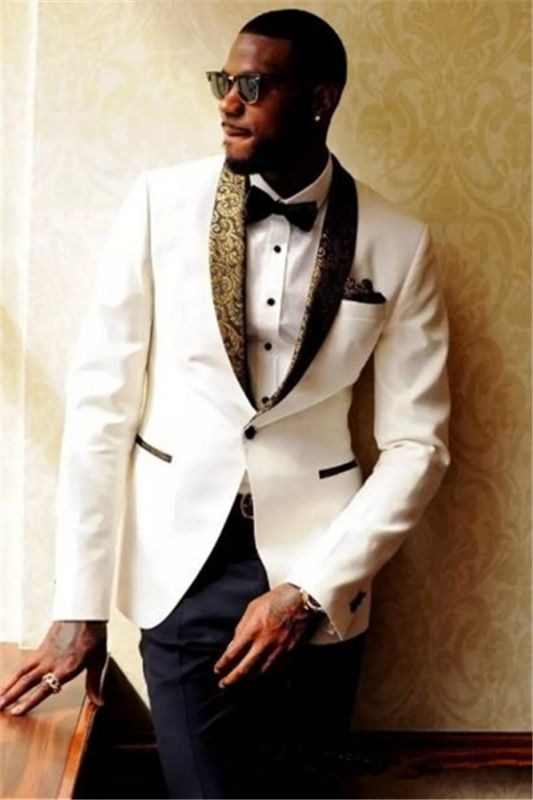 Custom Made Men Wedding Suits Bridegroom Mens Suits | 2020 Formal Jacquard Best Men Tuxedos