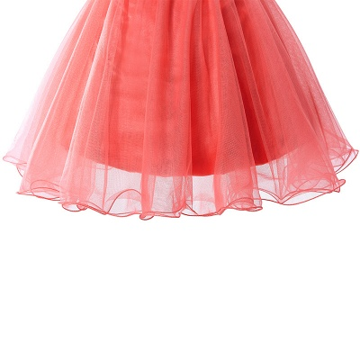 Sexy Crystal Beads Tulle Sleeveless Two-piece Short Prom Dress On Sale_7