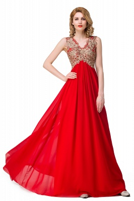 Long Prom Lace Dress Evening Dress with Sequins On Sale_9