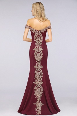 Elegant Off-the-Shoulder Mermaid Prom Dress Long With Lace Appliques_38
