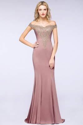 Elegant Off-the-Shoulder Mermaid Prom Dress Long With Lace Appliques_20