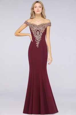Elegant Off-the-Shoulder Mermaid Prom Dress Long With Lace Appliques_34