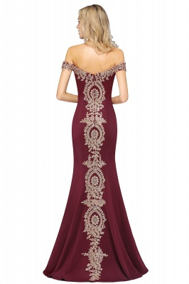 Elegant Off-the-Shoulder Mermaid Prom Dress Long With Lace Appliques_42