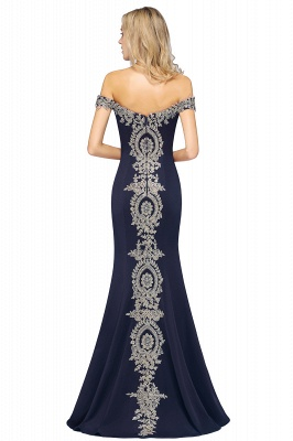 Elegant Off-the-Shoulder Mermaid Prom Dress Long With Lace Appliques_22