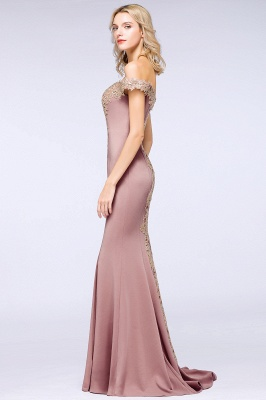 Elegant Off-the-Shoulder Mermaid Prom Dress Long With Lace Appliques_24
