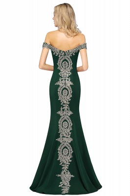Elegant Off-the-Shoulder Mermaid Prom Dress Long With Lace Appliques_43