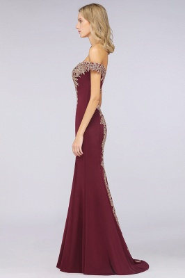 Elegant Off-the-Shoulder Mermaid Prom Dress Long With Lace Appliques_35