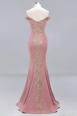 Elegant Off-the-Shoulder Mermaid Prom Dress Long With Lace Appliques_12