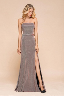 Stunning Strapless Long Prom Dress With Split_4