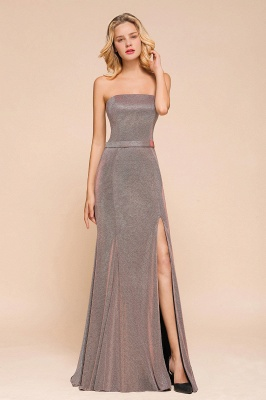 Stunning Strapless Long Prom Dress With Split_7