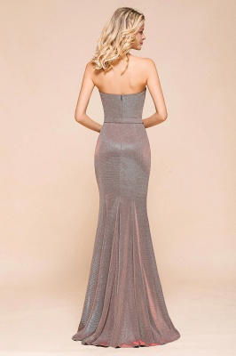Stunning Strapless Long Prom Dress With Split_3