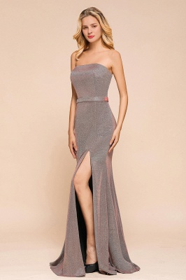 Stunning Strapless Long Prom Dress With Split_6