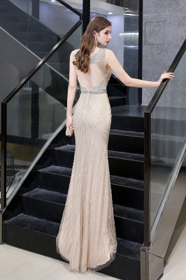 Luxurious Beadings Mermaid Prom Dress | Long Mermaid Evening Gowns_27