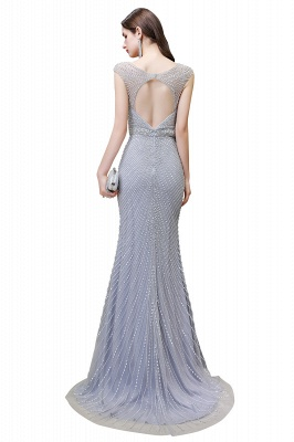 Luxurious Beadings Mermaid Prom Dress | Long Mermaid Evening Gowns_24