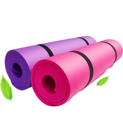 Free Shipping 183*61cm NBR Yoga Mats Lose Weight Solid Color Anti-skid Gymnastic Sport Equipment_4