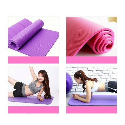 High Quality Non-slip Yoga Mats For Fitness Big Size 183*61cm Yoga Blanket NBR Outdoor Home Heath Exercise Pad_2