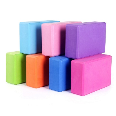 Yoga Blocks Foam Brick Training Exercise Fitness Yoga Bolster Pillow Cushion Body Shaping Health Training
