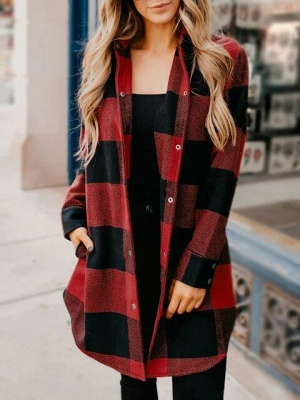 Classic Plaid Cozy Shirt_5