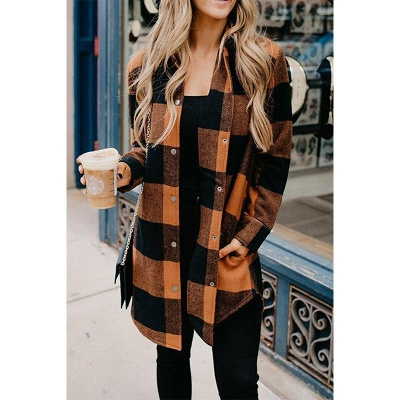 Classic Plaid Cozy Shirt_2