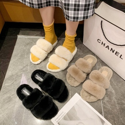 Fluffy Toe Post Casual Slipper On Sale_7