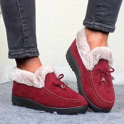 Cotton Shoes For Lady Winter Soft Soles Warm Shoes_1