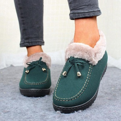 Cotton Shoes For Lady Winter Soft Soles Warm Shoes_6