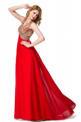 Long Prom Lace Dress Evening Dress with Sequins On Sale_7