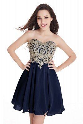 2020 Sweetheart Cheap Mini Short Appliques Homecoming Dresses_6