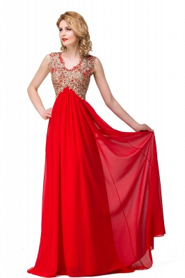Long Prom Lace Dress Evening Dress with Sequins On Sale_8