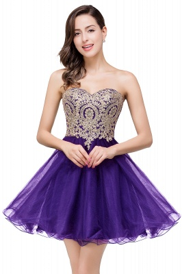 A Line Lace Appliques Sweetheart Short Prom Dress On Sale_1