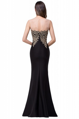 Women's Rhinestone Appliques Sheer Maxi Long Evening Prom Party Dress On Sale_20