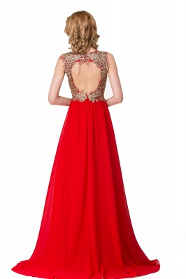 Long Prom Lace Dress Evening Dress with Sequins On Sale_4