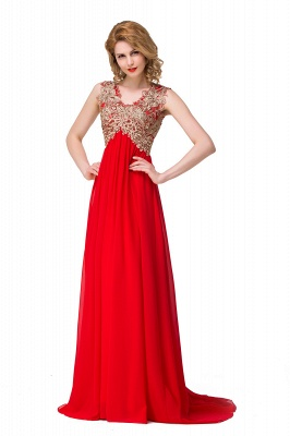 Long Prom Lace Dress Evening Dress with Sequins On Sale_3