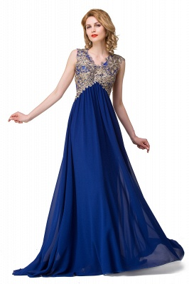 Long Prom Lace Dress Evening Dress with Sequins On Sale_2
