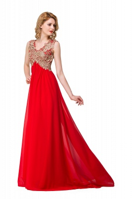 Long Prom Lace Dress Evening Dress with Sequins On Sale_5