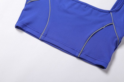 Two piece Women Yoga Sets Quick Dry Sports Suit Fitness Bra Elastic Gym Shorts_11