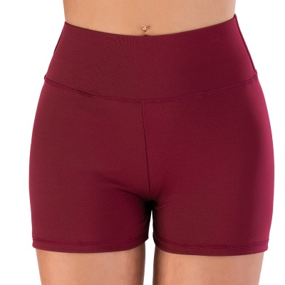 Breathable Shorts Running Gym Sports Yoga Shorts Fitness Workout Activewear_8