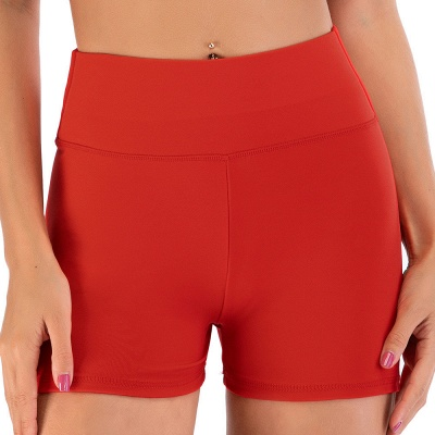 Breathable Shorts Running Gym Sports Yoga Shorts Fitness Workout Activewear_2