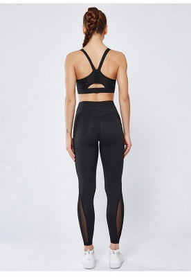 High Quality Fitness Yoga Pants with Pocket | Elastic High Waist Leggings Stretch Breathable Pants_6
