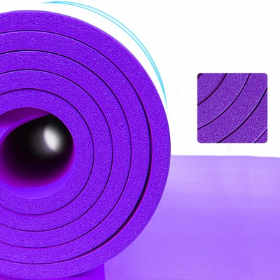 In Stock NBR Yoga Mats High Quality Yoga Blanket Lose Weight Home Exercise Pad Pilates Supplies_7