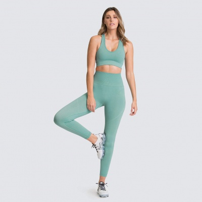 Fashion High Waist Leggings Women Fitness Set | Overall Full Tights Running Yoga Suits_13