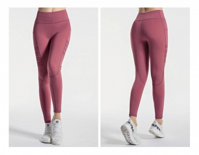 High Waist Leggings Women Fitness Yoga Pants Pocket Sports Tight Pants Fitness_7