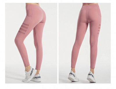 High Waist Leggings Women Fitness Yoga Pants Pocket Sports Tight Pants Fitness_6