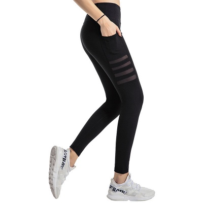High Waist Leggings Women Fitness Yoga Pants Pocket Sports Tight Pants Fitness_1