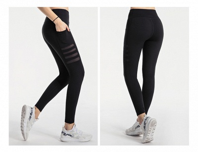 High Waist Leggings Women Fitness Yoga Pants Pocket Sports Tight Pants Fitness_5