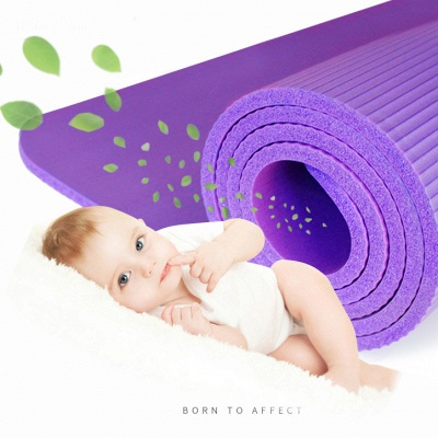 In Stock NBR Yoga Mats High Quality Yoga Blanket Lose Weight Home Exercise Pad Pilates Supplies_3