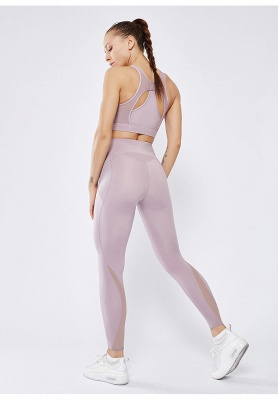 High Quality Fitness Yoga Pants with Pocket | Elastic High Waist Leggings Stretch Breathable Pants_8